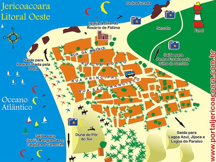 mapa_jericoacoara